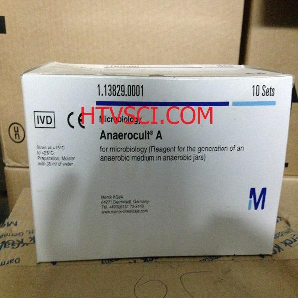 Hóa chất phân tích Anaerocult A-1138290001- Túi tạo môi trường kỵ khí