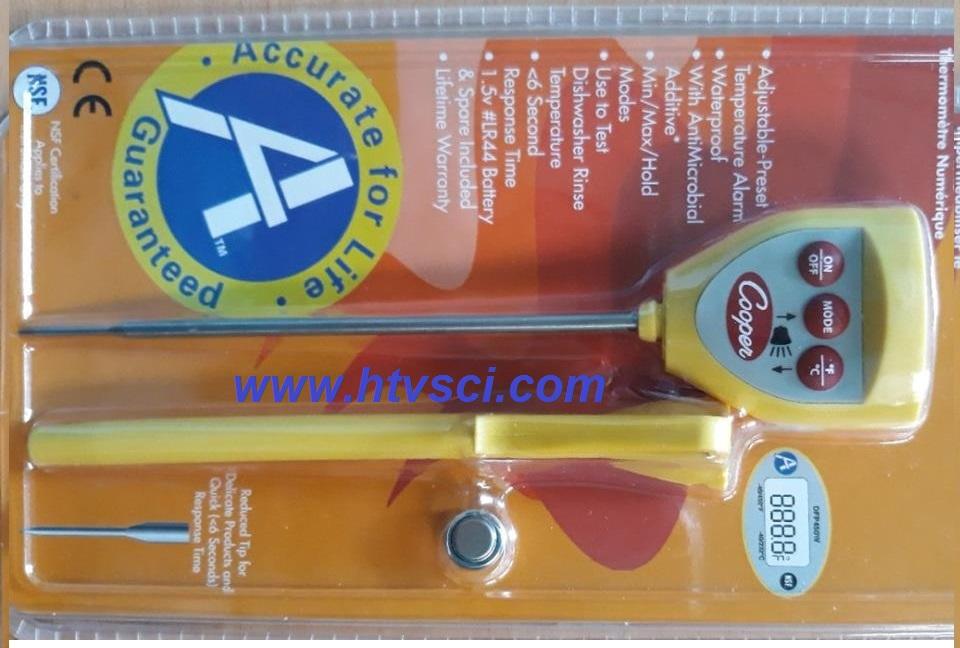 Bút đo nhiệt độ điện tử có cảnh báo DFP-450W