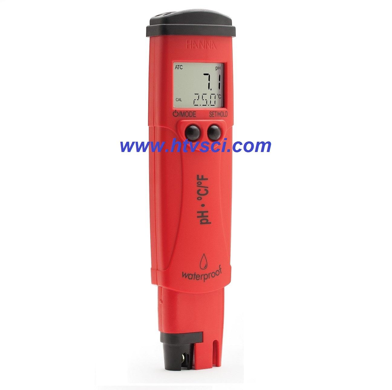 Bút đo pH/Nhiệt độ HI98127
