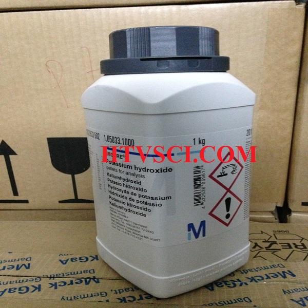 Hóa chất phân tích Potassium hydroxide, KOH, 1050331000