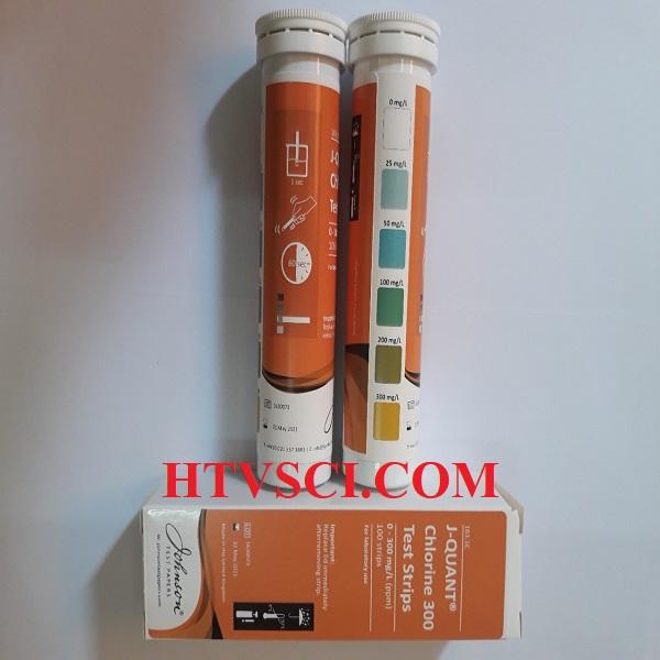 Test thử chlorine 0-300 ppm