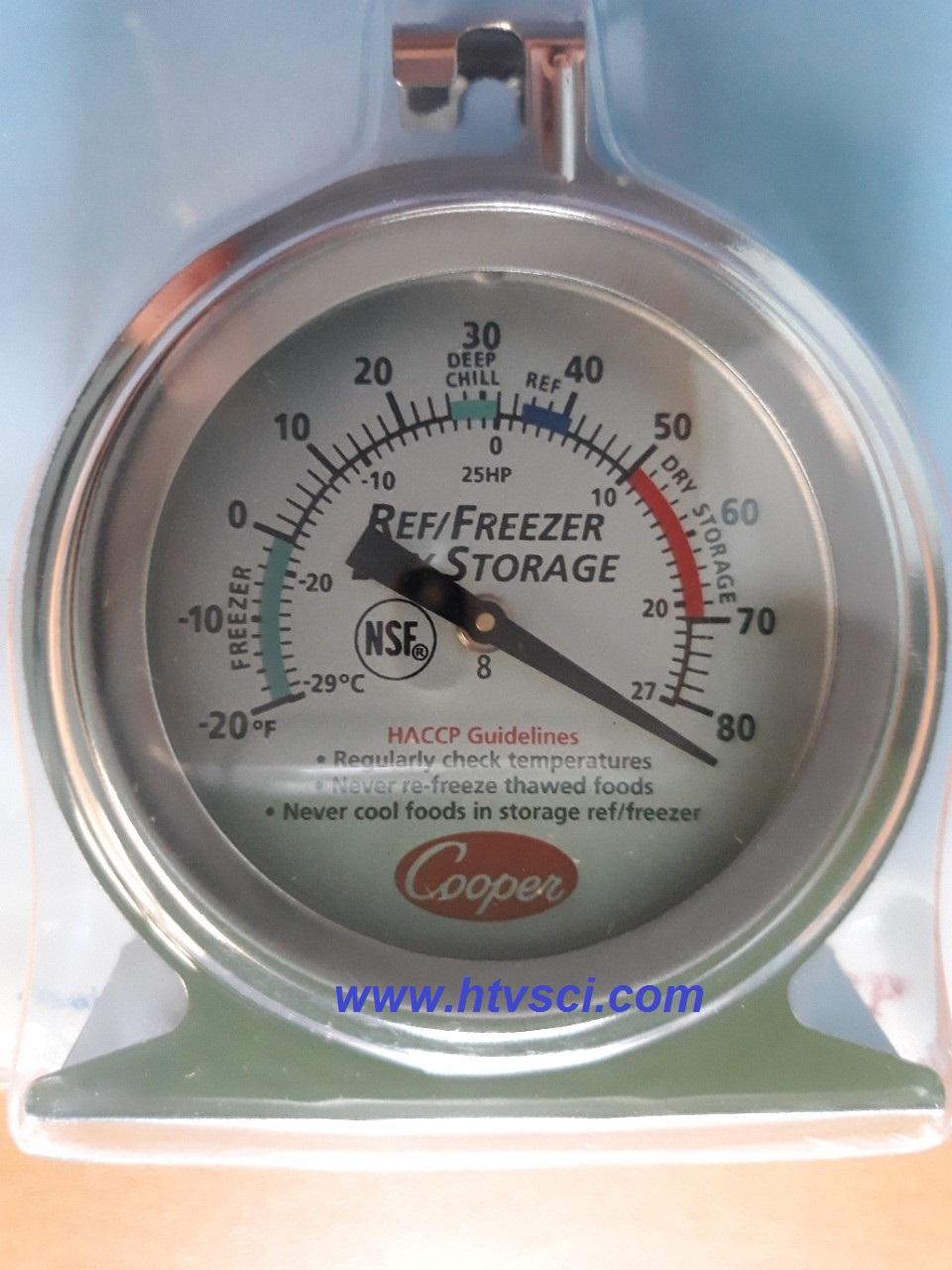 Nhiệt kế cơ Cooper-atkins 25HP dùng cho tủ lạnh tủ mát