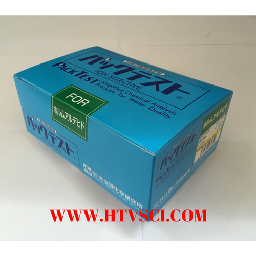 Packtest Formaldehyde, WAK-FOR
