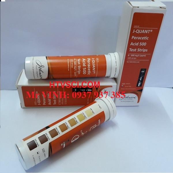 Kiểm tra nhanh Peracetic acid 0-500ppm