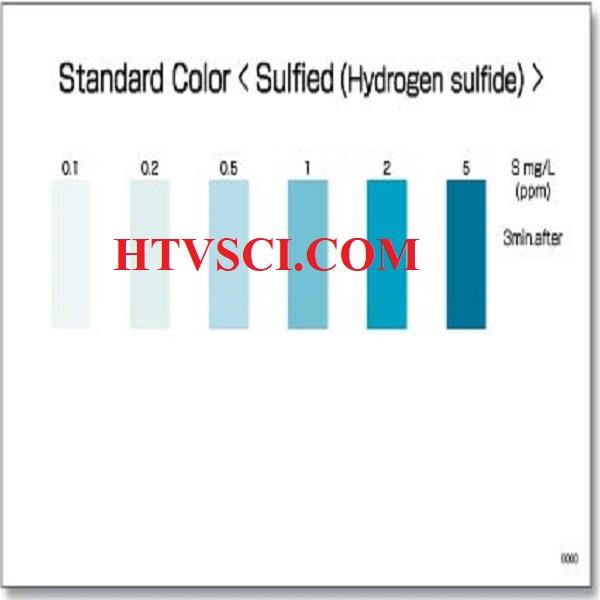 PACKTEST Sulfide (Hydrogen Sulfide), WAK-S