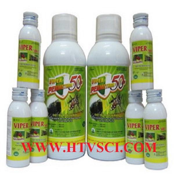 Hóa chất diệt Ruồi, muỗi, kiến, gián...VIPER 50EC