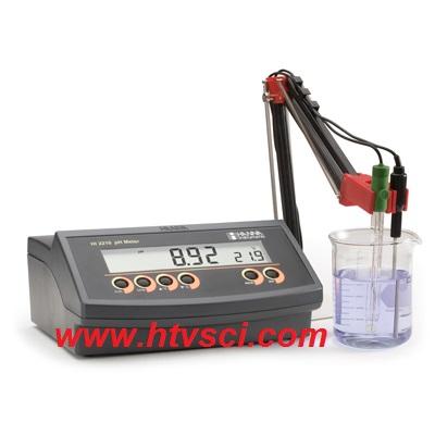 Máy đo pH/Nhiệt Độ để bàn HI2210