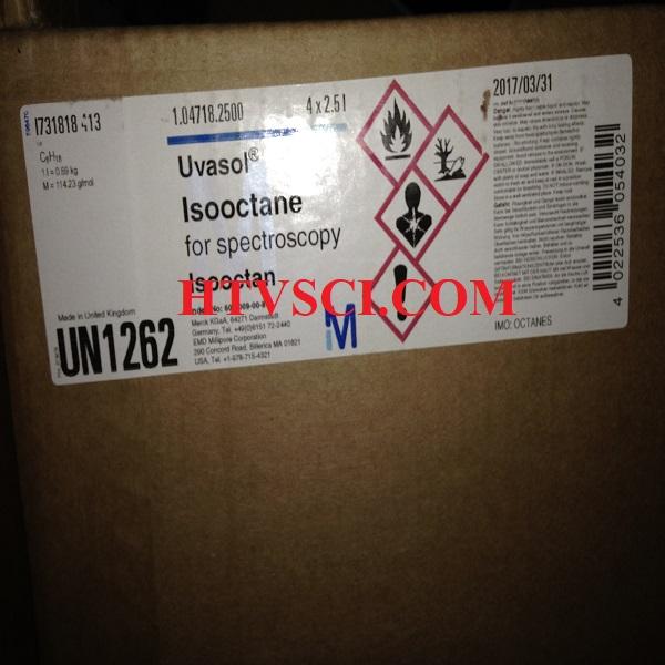 Hóa chất phân tích Isooctane, 1047182500