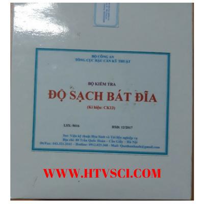 Bộ kiểm tra độ sạch bát đĩa CK13 Việt Nam