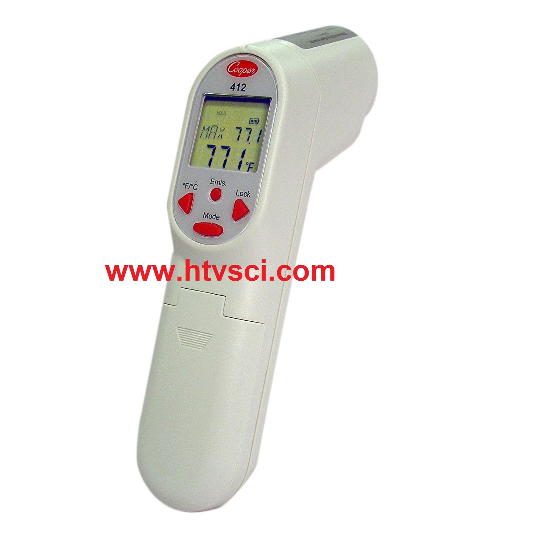 Súng đo nhiệt độ hồng ngoại thang cao 412