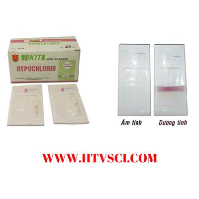 Kiểm tra nhanh hypoclorid HT04 Việt Nam