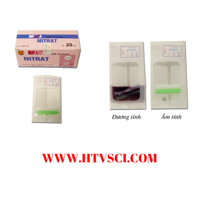Kiểm tra nhanh Nitrat NAT04 Việt Nam