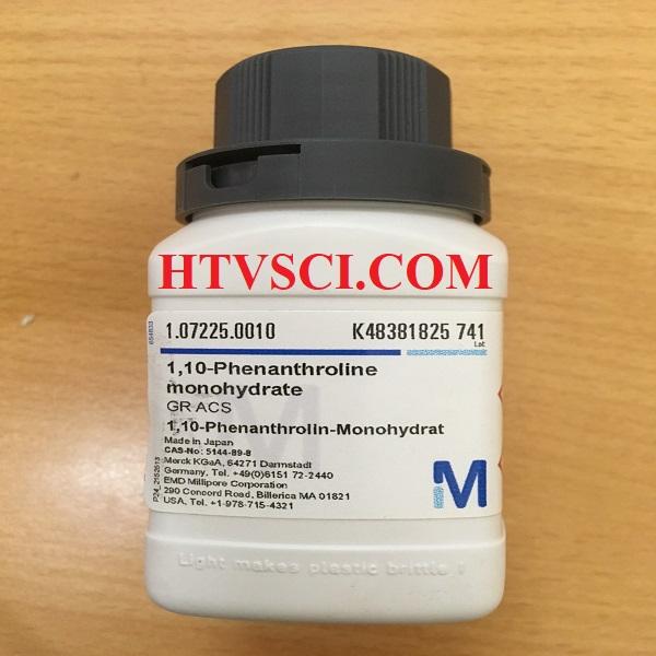 Hóa chất phân tích 1,10-PHENANTHROLINE MONOHYDRATE, 1072250010