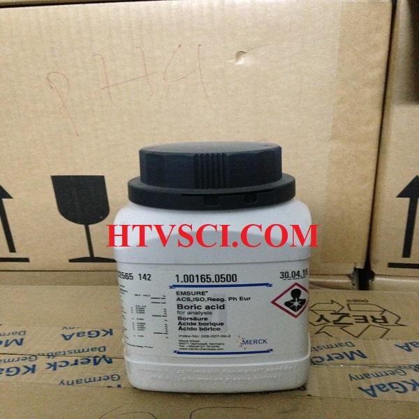 Hóa chất phân tích BORIC ACID, 1001650500