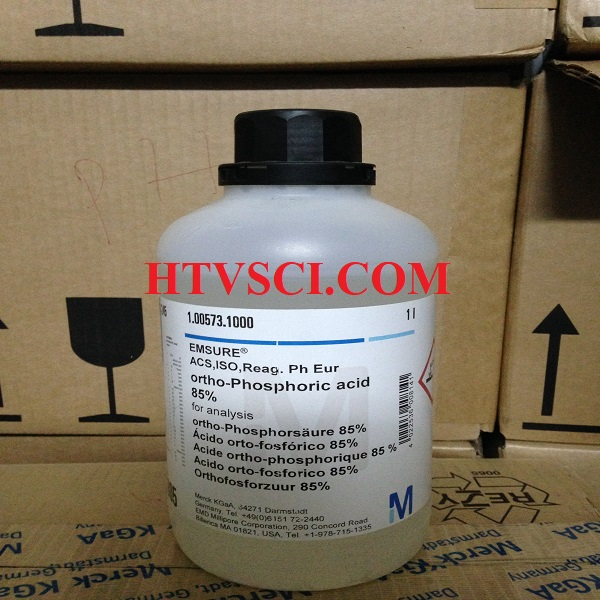 Hóa chất phân tích ORTHO-PHOSPHORIC ACID 85%, 1005731000