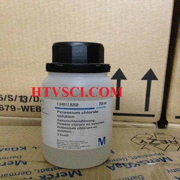 Hóa chất phân tích POTASSIUM CHLORIDE SOLUTION 3 MOL/L, KCl 3M, 1048170250