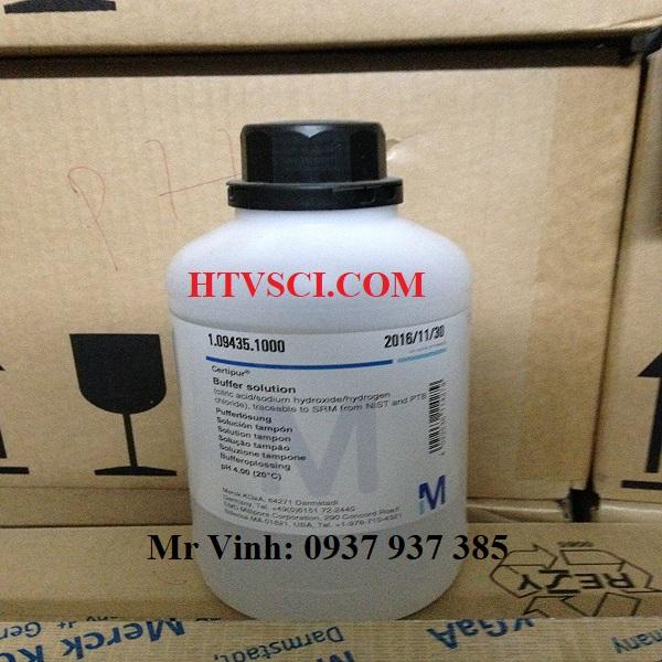 Hóa chất phân tích dung dịch pH4, Buffer solution pH4, 1094351000