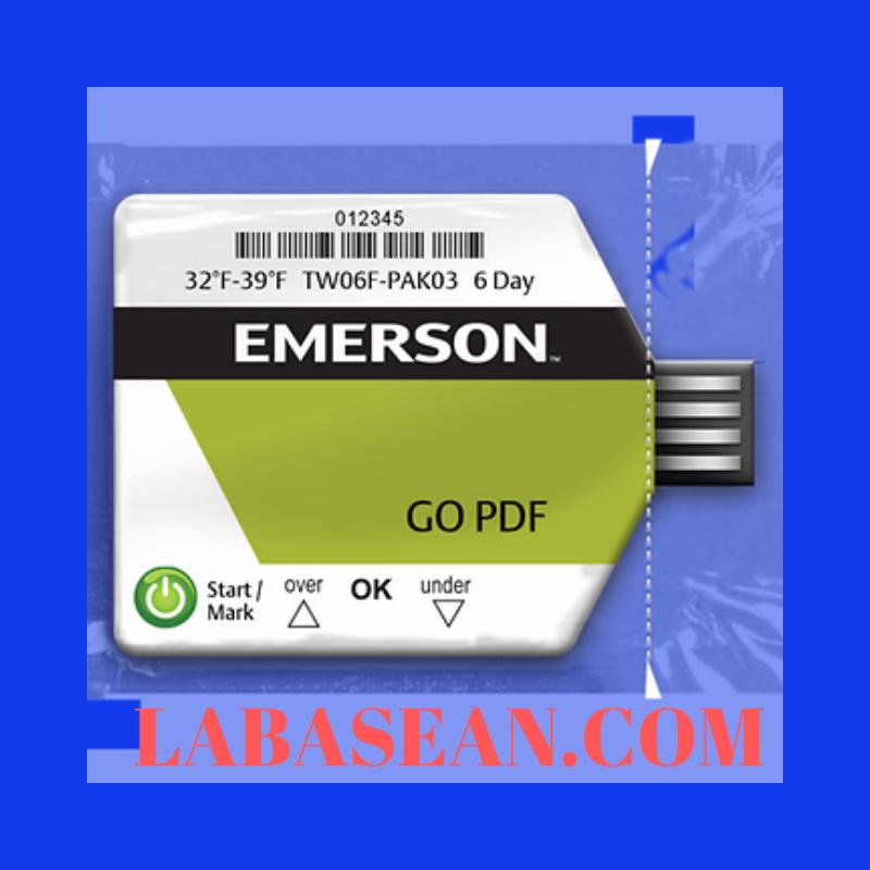 Thiết bị giám sát nhiệt độ GO PDF dùng cho xe hàng và xe công Emerson