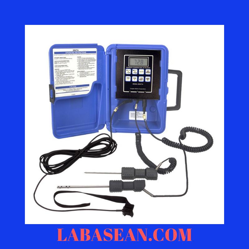 Nhiệt ẩm kế cầm tay SRH77A-E-032 đo nhiệt độ độ ẩm công nghiệp