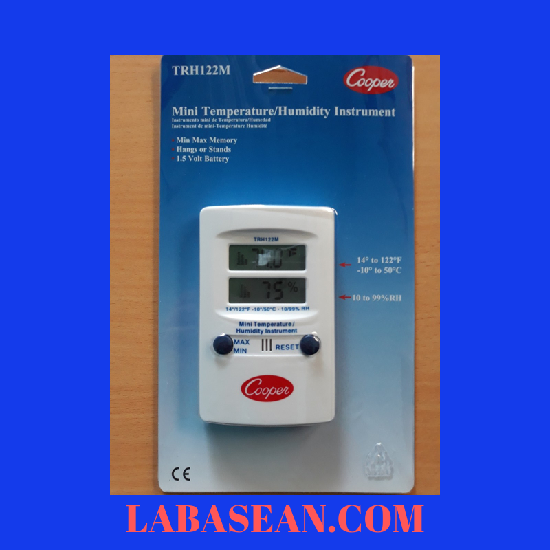 Đồng hồ đo nhiệt độ độ ẩm TRH122M