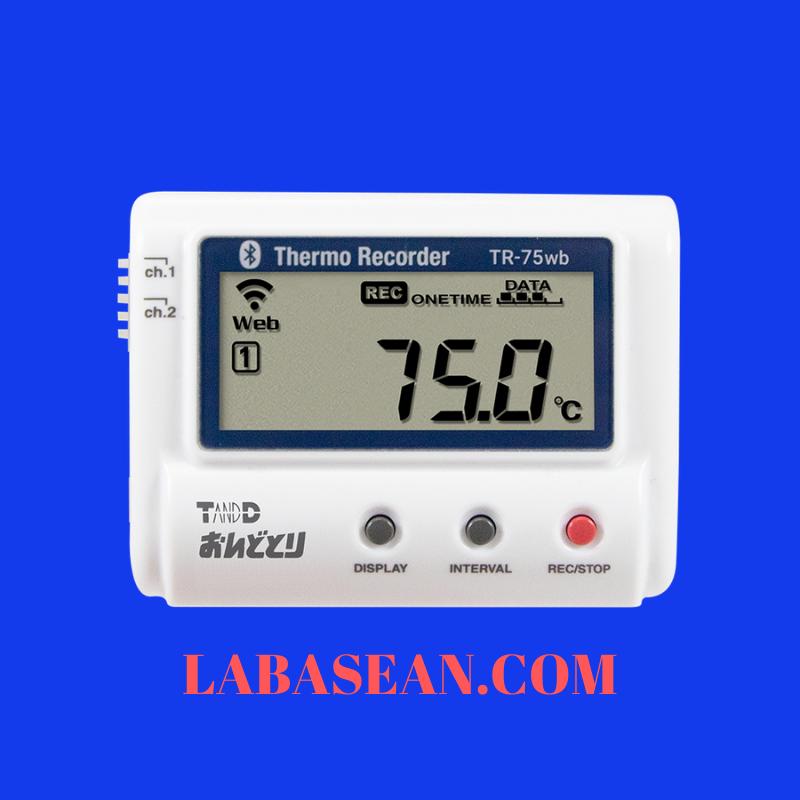 Thiết bị giám sát nhiệt độ TR-75wb ghi nhận nhiệt độ cao