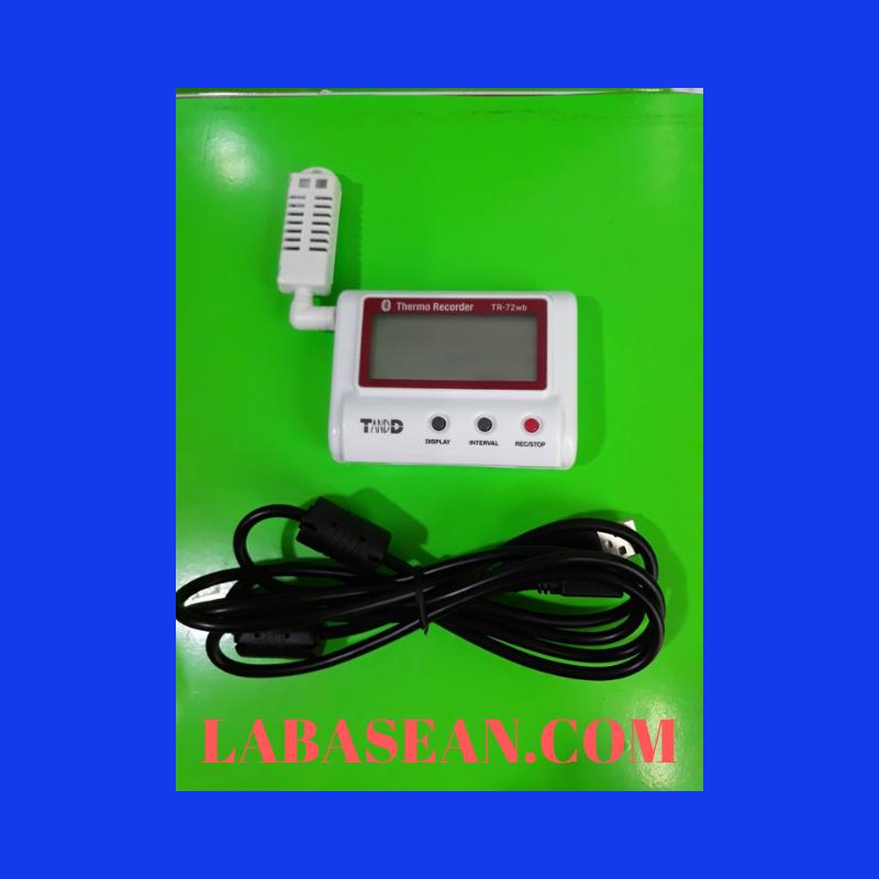 Thiết bị giám sát nhiệt độ độ ẩm TR-72wb kết nối blutooth