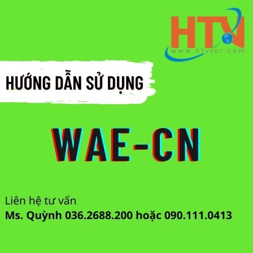HDSD BỘ TEST KIT WAE-CN