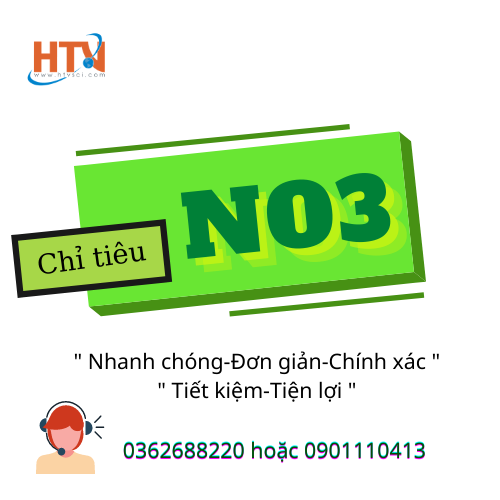 Chỉ tiêu Nitrat NO3