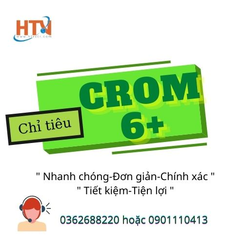 Chỉ tiêu Crom 6