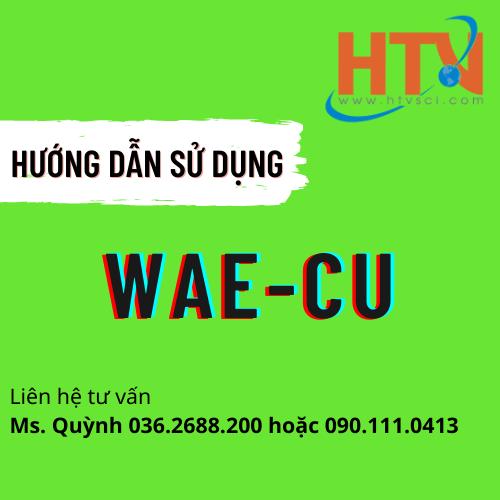 HDSD BỘ TEST KIT KIỂM TRA ĐỒNG WAE-CU