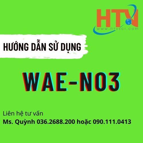 HDSD BỘ TEST KIT KIỂM TRA NO3 TRONG NƯỚC THẢI WAE-NO3