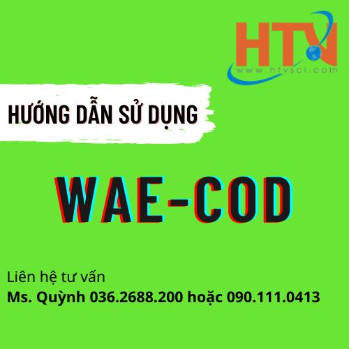 HDSD BỘ TEST KIT KIỂM TRA COD THANG TRUNG WAE-COD